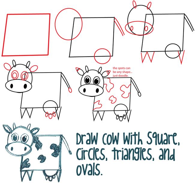 Square Bodied Cows