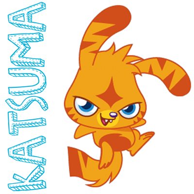 How to draw Katsuma from Moshi Monsters with easy step by step drawing tutorial