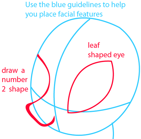 Step 3 : Drawing Rarity from My Little Pony in Easy Steps Lesson