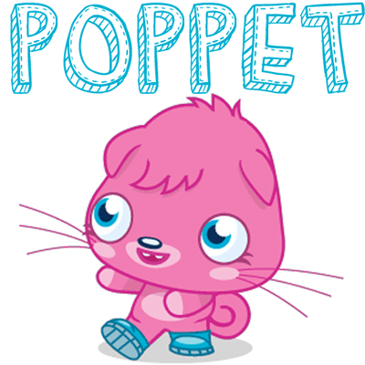 How to draw Poppet from Moshi Monsters with easy step by step drawing tutorial