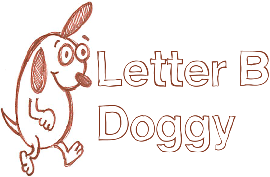 How to Draw a Capital Letter B dog