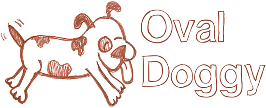 How to Draw an Oval-Shaped Dog