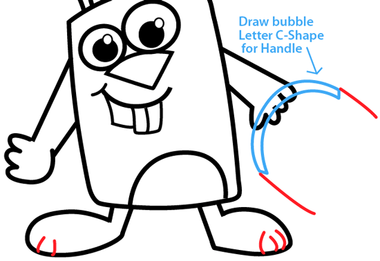 how to draw a easter bunny step by step easy