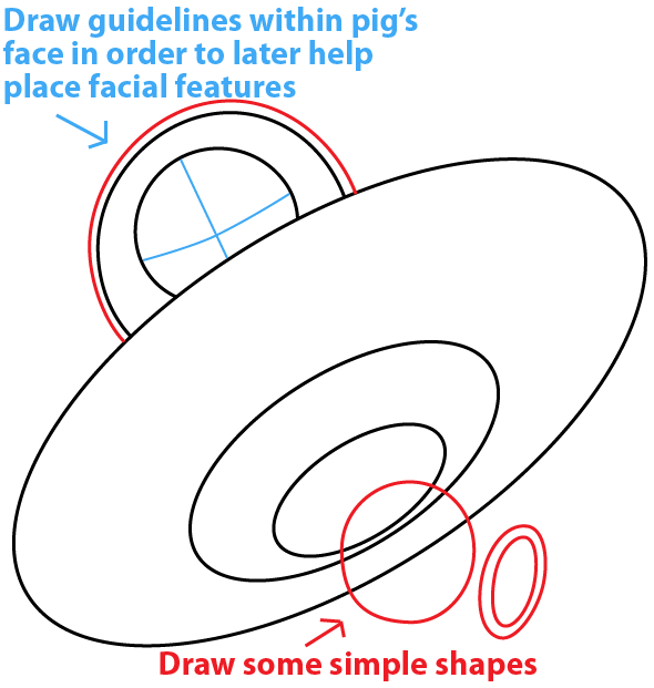 How To Draw King Pig In Space Ship From Angry Birds Space With Easy