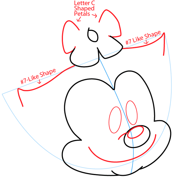 Step 5 : Drawing Dot Warner from Animaniacs in Easy Steps Lesson