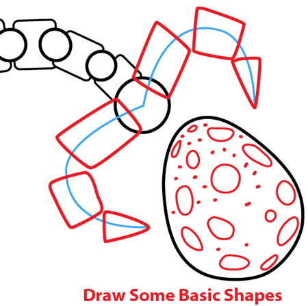Step 9 : Drawing King Pig in Space Ship from Angry Birds Space in Easy Steps Lesson