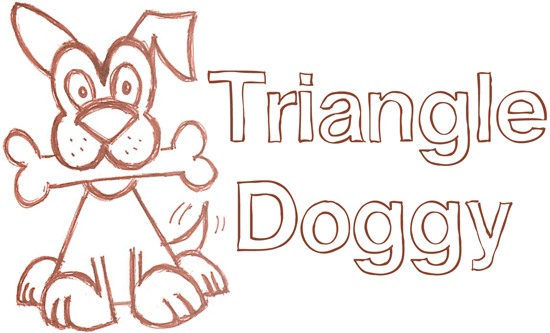 How to Draw a Triangle Dog