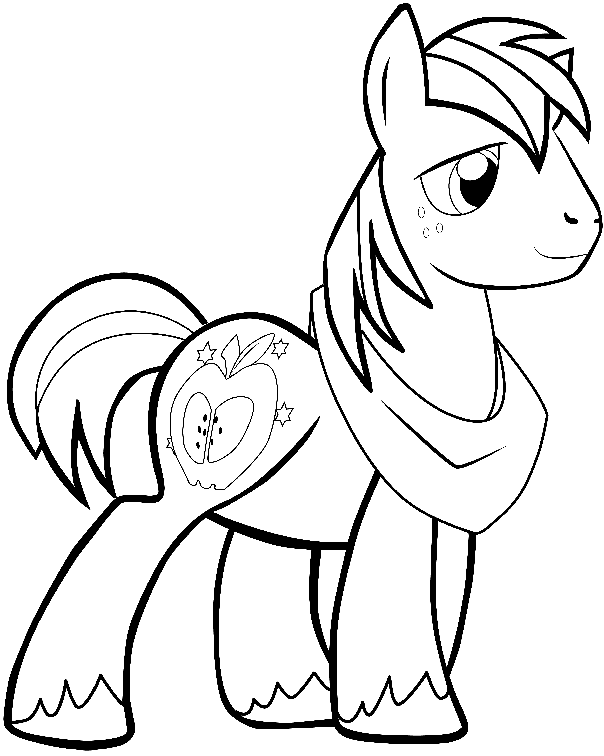 How to Draw Big Mac from My Little Pony: Friendship is ...