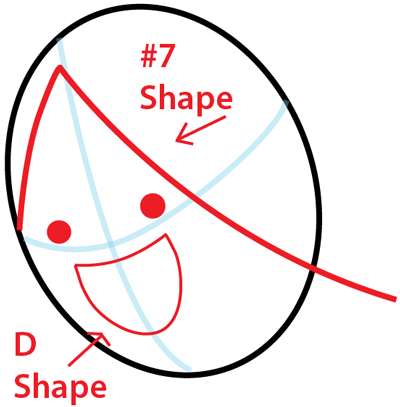 Step 2 : Drawing Marceline from Adventure Time in Easy Steps Lesson