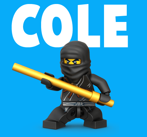 How To Draw Cole From Lego Ninjago With Easy Step By Step Drawing