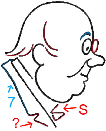 Face C - Step 5 : Drawing Cartoon Face Profiles in Easy Steps Lesson