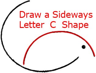 Mouse C - Step 2 : Drawing Cartoon Mice in Easy Steps Lesson