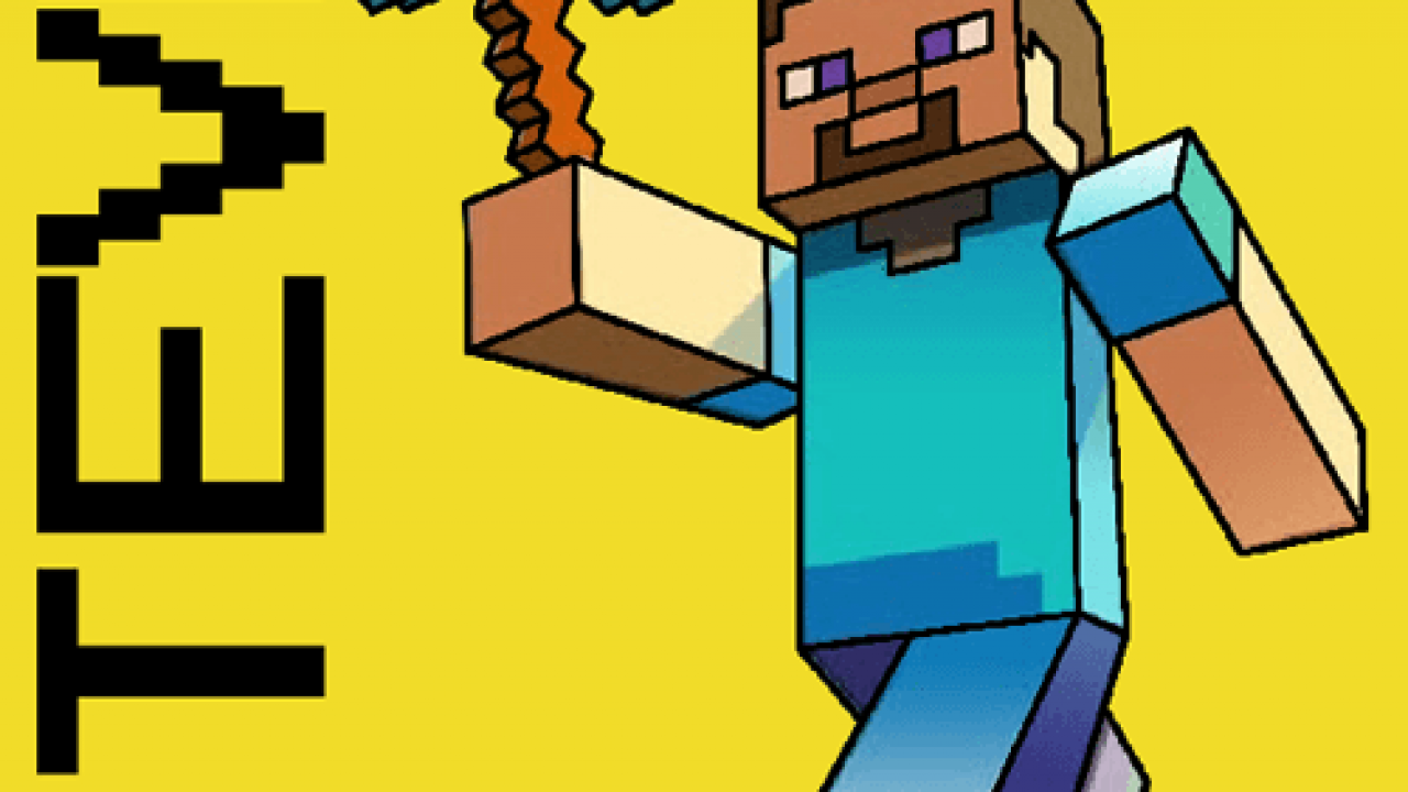 How To Draw Steve With A Pickaxe From Minecraft With Easy Step By