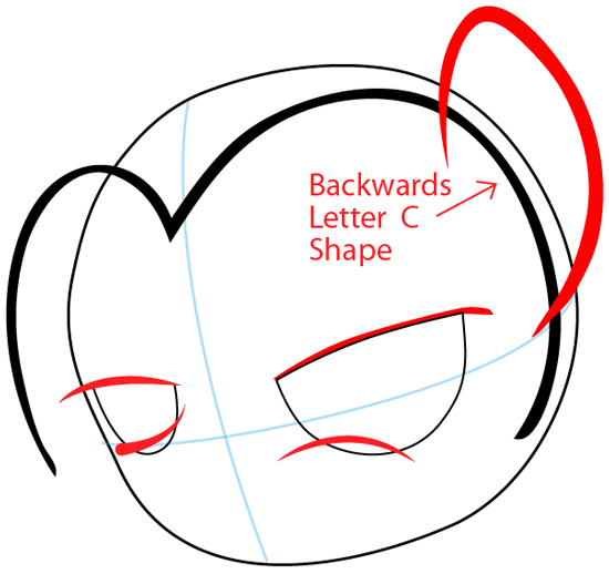 Step 3 : Drawing Babs Seed from My Little Pony: Friendship is Magic in Easy Steps Lesson