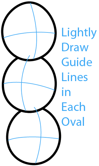 Step 2 : Drawing Lightning Birds from Angry Birds Space in Easy Steps Lesson