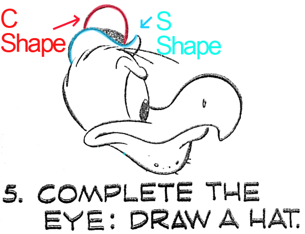 Complete the Eye and Draw a Hat