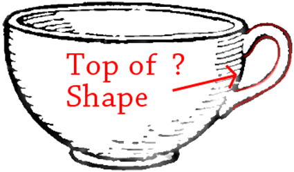 step 4 drawing a teacup