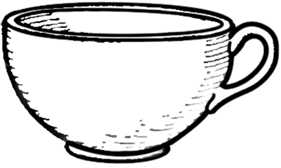 How to Draw Teacups with Easy Step by Step Lesson
