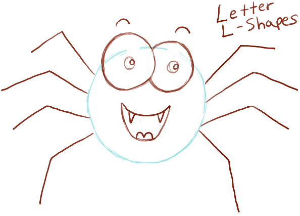 How To Draw Cute Cartoon Spider With Easy Steps For Preschoolers