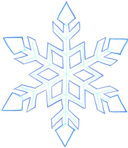 Step 8 08 snowflakes
