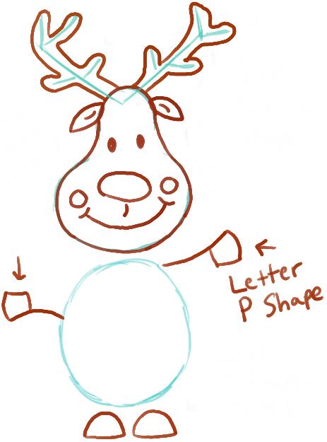 11 pear faced reindeer 2 - Reindeer Images 2
