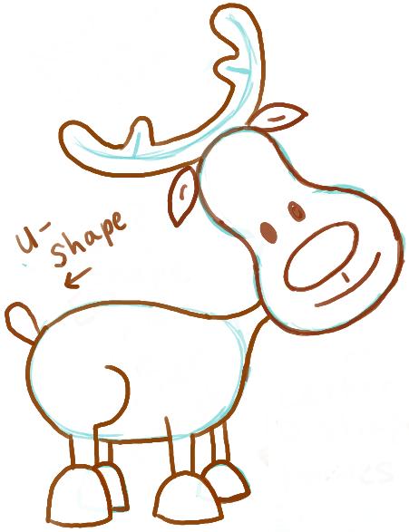 13-pear-faced-reindeer