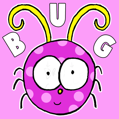 How to Draw a Cute Cartoon Bug for Kids