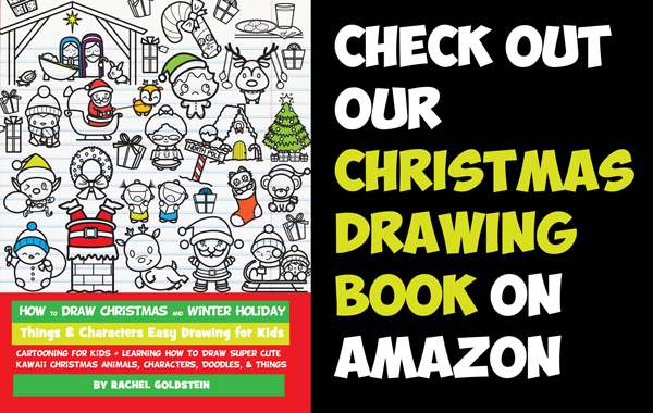 christmas drawing book - how to draw christmas stuff for kids