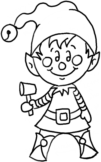 How To Draw A Christmas Elf With Easy Steps Drawing Tutorial - How To Draw Step By Step Drawing ...