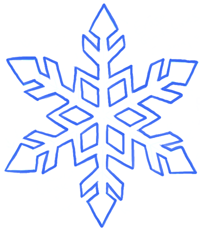 Image result for snowflake drawings