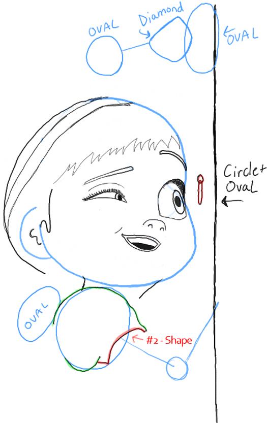 how to draw anne boleyn step by step