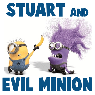 How to Draw Stuart and an Evil Minion from Despicable Me 2 Drawing Tutorial