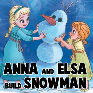 how to draw a snowman from frozen