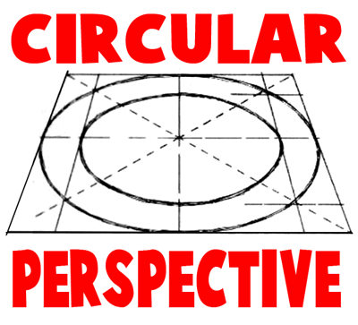 How to Draw in Circular Perspective - Drawing Circles in Perspective