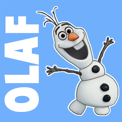 How to draw olaf the snowman from frozen with easy steps tutorial