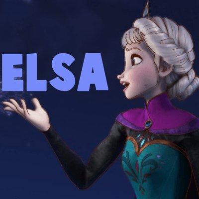 How to Draw Princess Elsa from Frozen Step by Step Tutorial