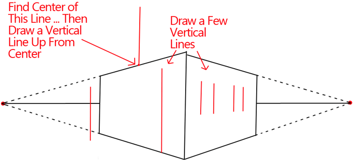 How to Draw a House with Easy 2 Point Perspective Techniques - How ...