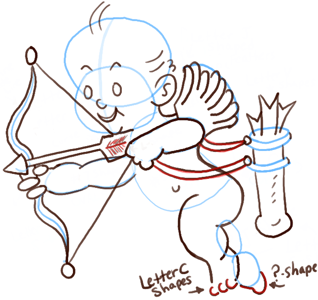 step08-cupid-with-bow-and-arrow