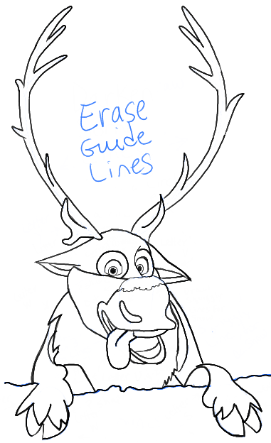 disney frozen sven drawing - photo #37