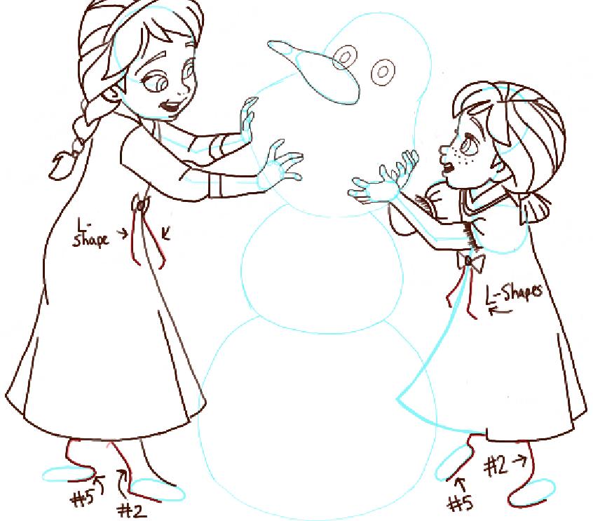 step13-anna-elsa-building-snowman