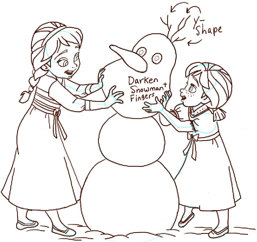 step15-anna-elsa-building-snowman
