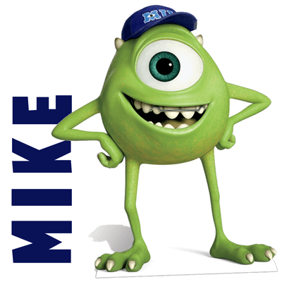 How to Draw Mike Wazowski from Monsters University Drawing Tutorial