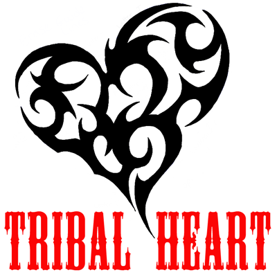 How To Draw A Tribal Heart Tattoo Design In Easy Steps Tutorial