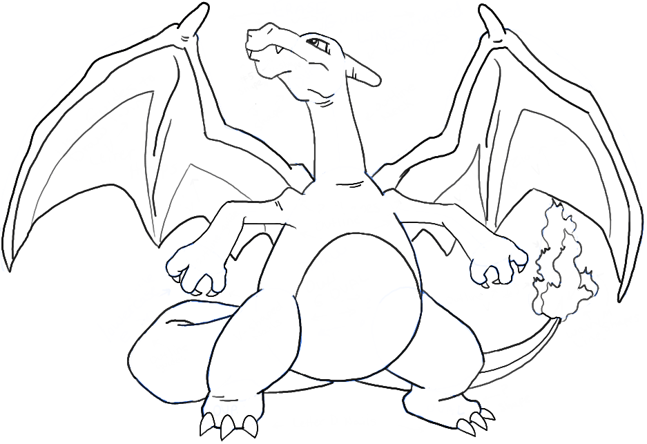 How to Draw Charizard from Pokemon with Easy Steps  How to Draw