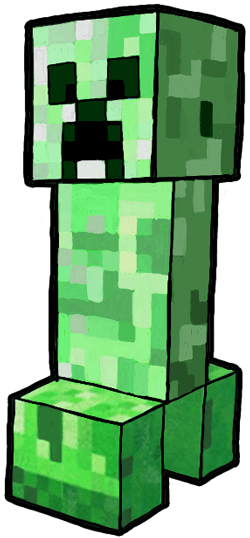 How to Draw a Minecraft Creeper in Easy Steps