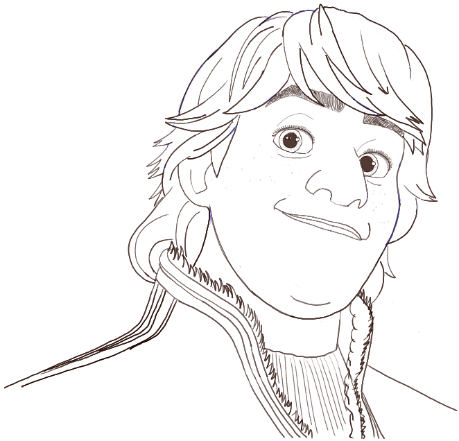 How to Draw Kristoff from Disneys Frozen