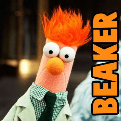 How to Draw Beaker from The Muppets Movie and Show Step by Step Drawing Tutorial