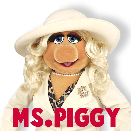 How to Draw Miss Piggy from The Muppets Show and Movie Step by Step Drawing Tutorial