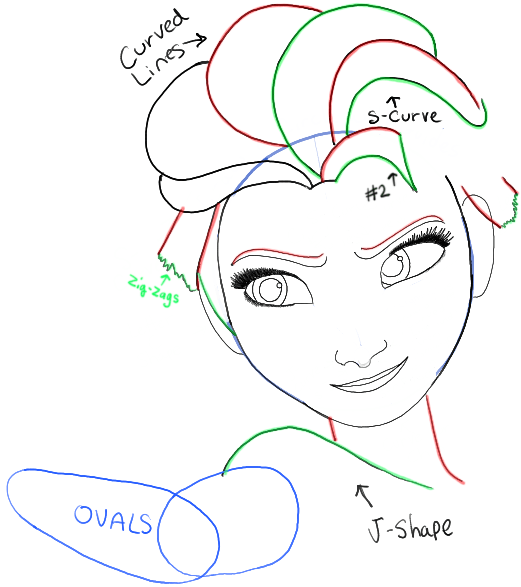 How to Draw Elsa from Frozen with Easy Step by Step ...