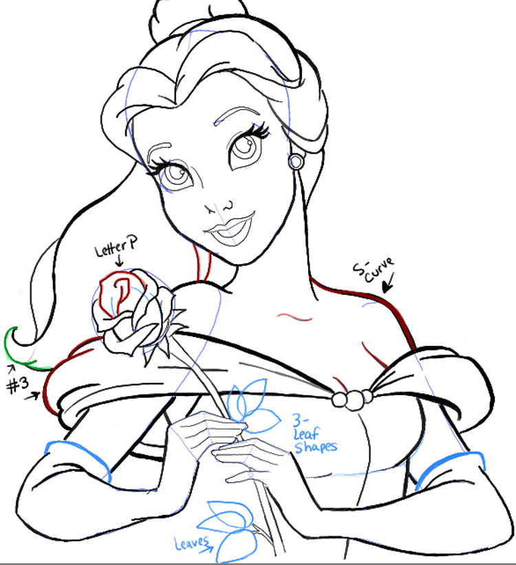 Step11 Belle From Beauty And The Beast